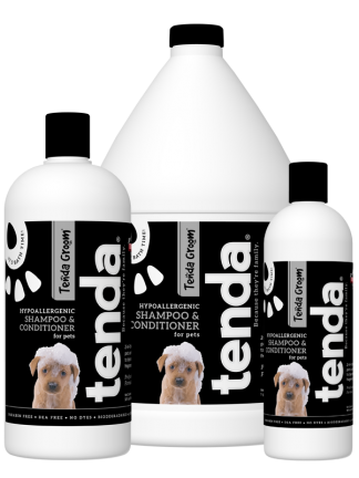 Tenda Groom Hypoallergenic Shampoo and Conditioner