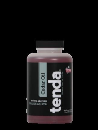 Tenda Equine & Pet Care Leg & Muscle Care Cedar Oil, wood & leather preservative.