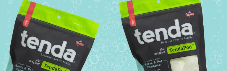 Tenda Horse Care TendaPod Horse & pet Shampoo Paks
