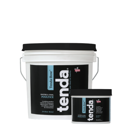 Tenda Equine & Pet Care Poultice Tenda-Bow, soothe & cool poultice.